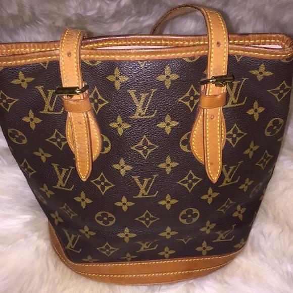 Bags   Authentic Louis Vuitton Bucket Bag   Poshmark 3b322c0eb2